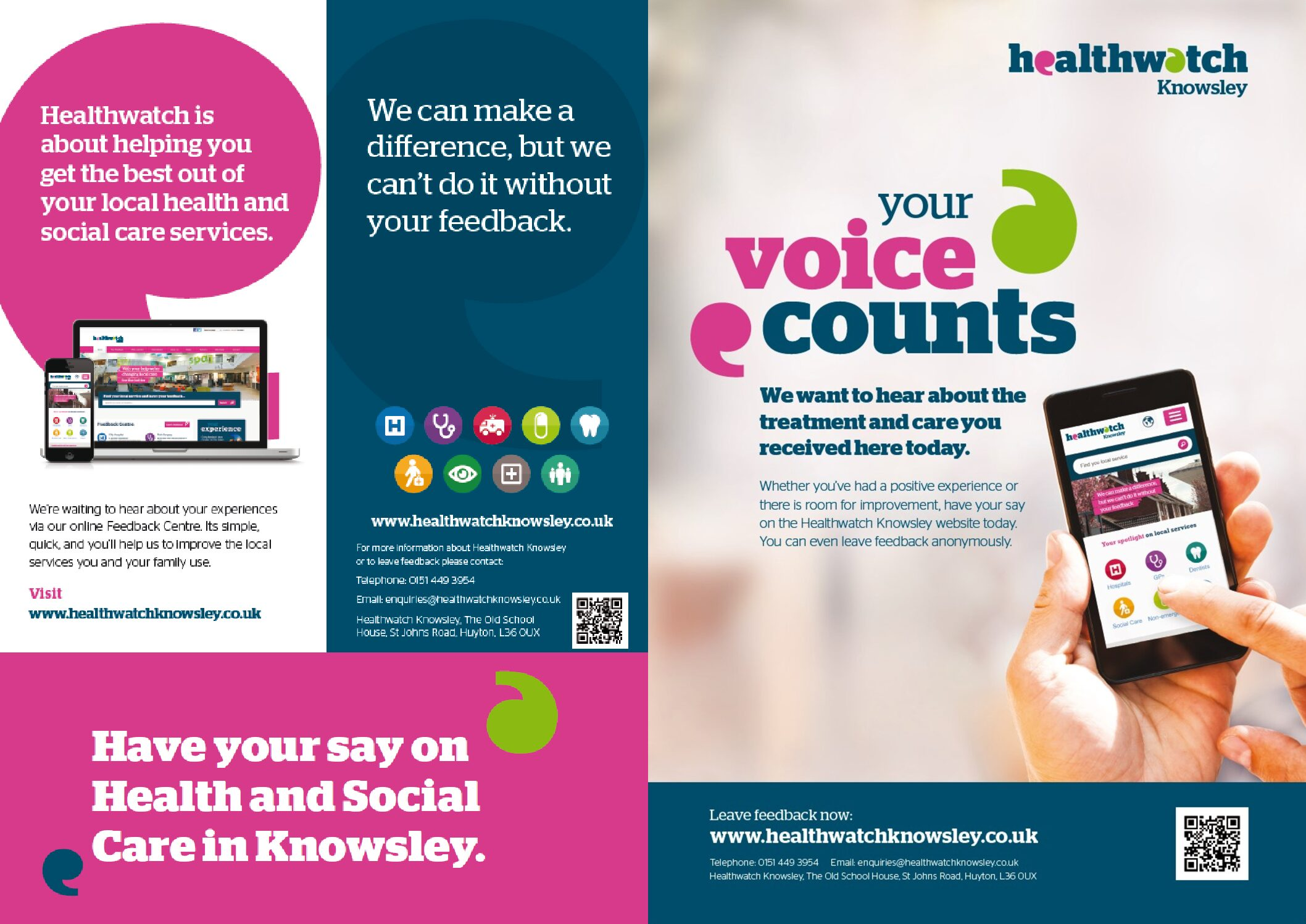 Healthwatch Knowsley – COVID-19 Vaccine Survey